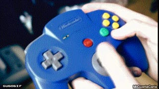 A Real Man Knows How to Turn on the N64 and Push Its Buttons (NSFW)