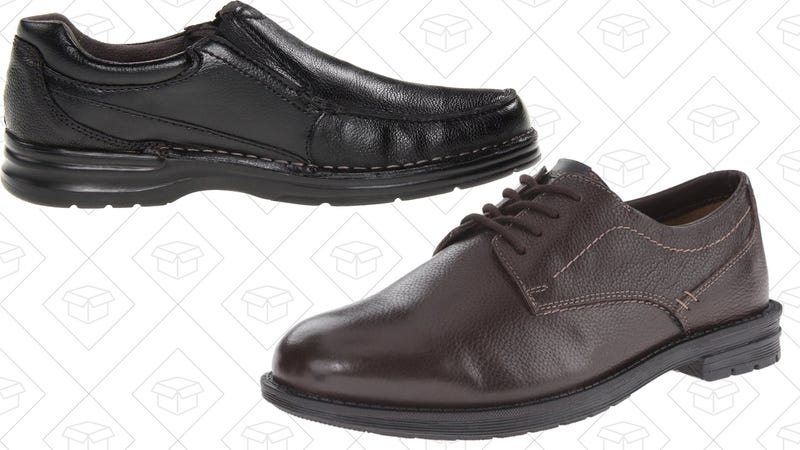 Today's Best Deals: $40 Dress Shoes, Beach Umbrella, Brother Laser Printer, and More