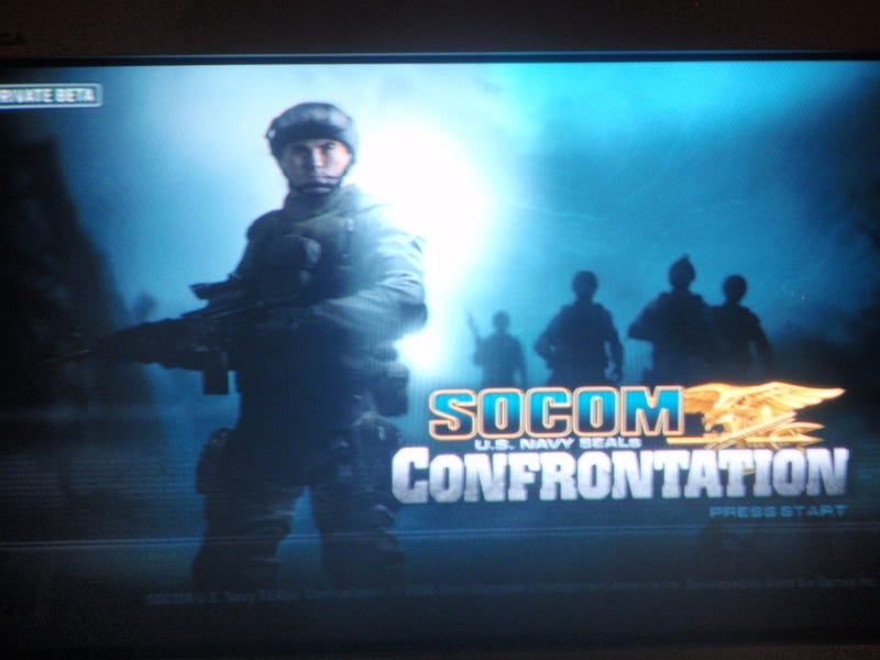 SOCOM Confrontation Closed Beta Pics