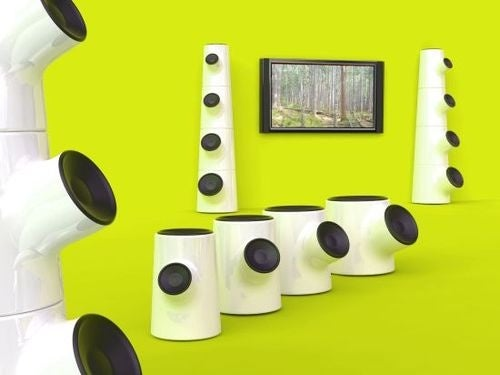 Growin' Up Speaker System Design Rooted in Trees