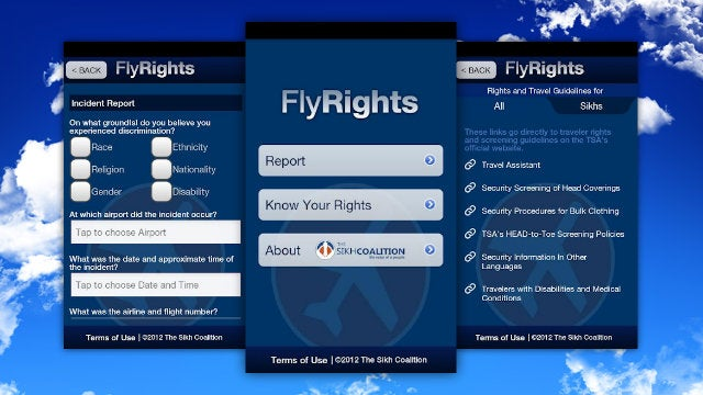 FlyRights Reports Profiling and Harassment by Airport Security Right From Your Phone