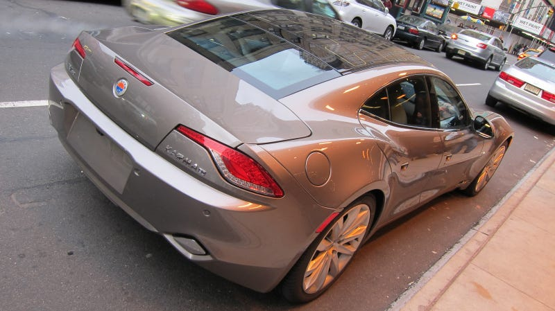 Fisker Karma: First Drive Photos