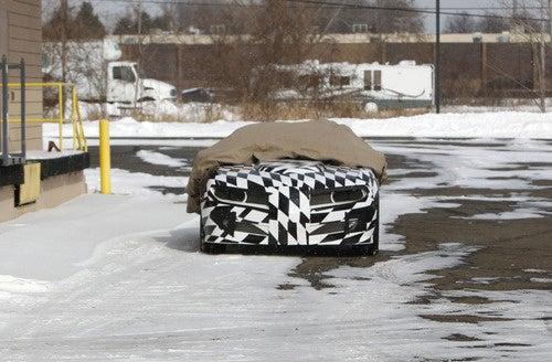 Trans Am Camaro Conversion: Spy Photos