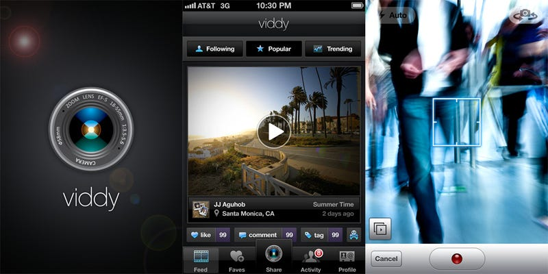 Viddy iPhone App is Like a HipstaInstaMaticGramThingy For Videos