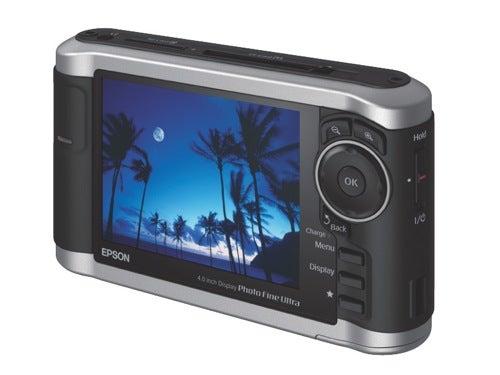 Epson P-3000 Photo Fine Player Stores Photos, Plays H.264 Videos