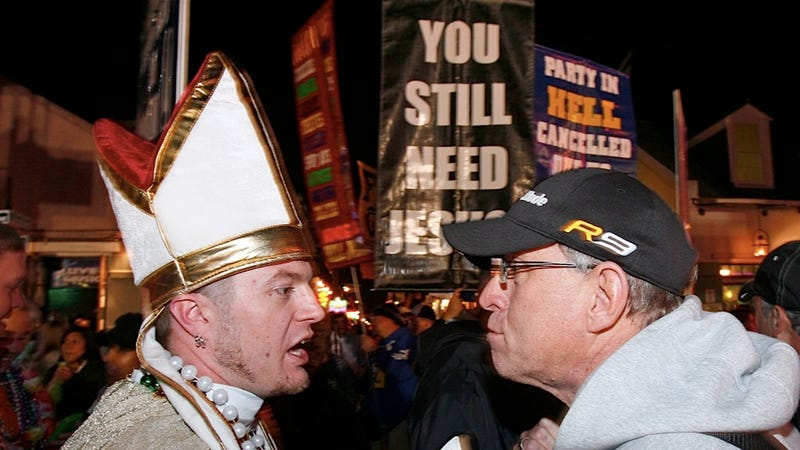 New Orleans Pastor Sues the City for His Right to Shout Gay Slurs on Bourbon Street