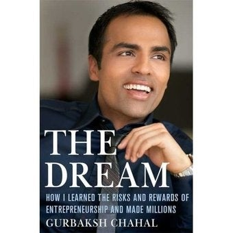 """Gurbaksh Chahal's ego-book """"The Dream"""" available for pre-order now"""
