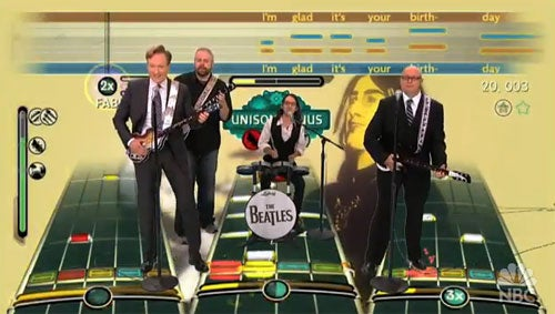 Conan O'Brien Tests His Sobriety With The Beatles: Rock Band