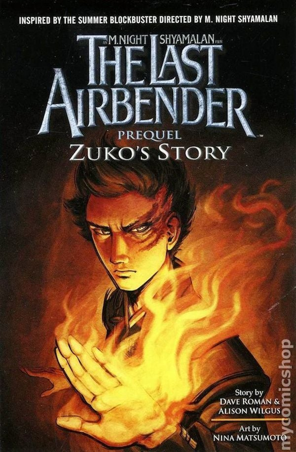 The Last Airbender movie tie-in comic is surprisingly worth your time