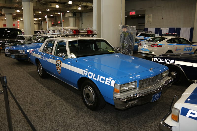All The Awesome Old Police Cars At The New York Auto Show