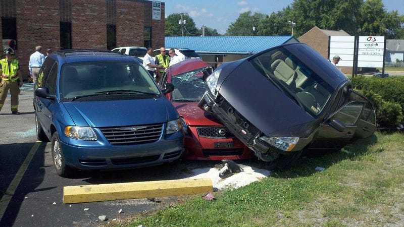 The Ten Worst Parking Jobs Ever Caught On Video