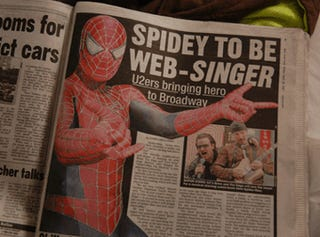 10 reasons why the Spider-Man musical will blow your damn mind to smithereens