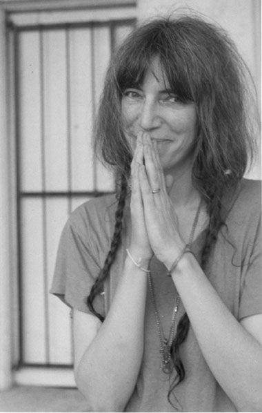 Patti Smith Forced to Explain Her Hair to NYT