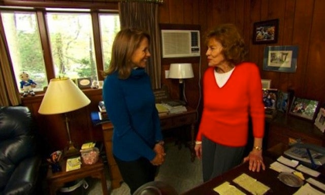 Katie Couric's Next Big Interview Is With Joe Paterno's Widow