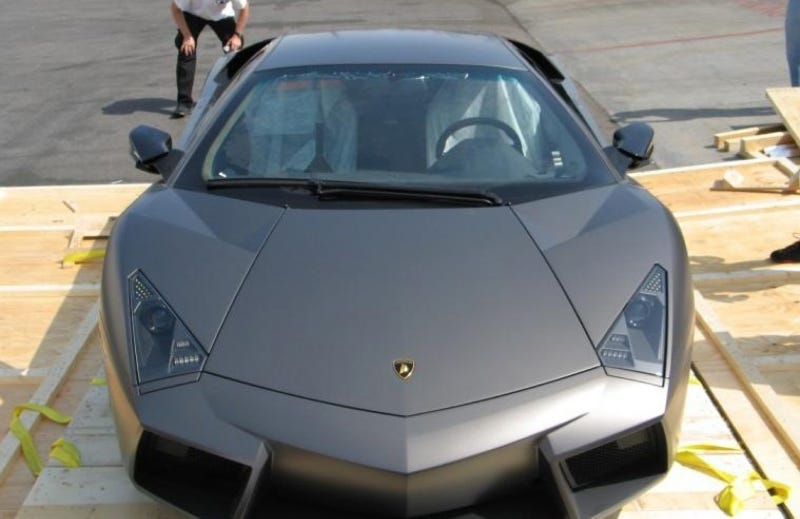 Lamborghini Reventon Unboxing Photos