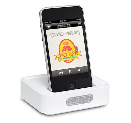 Sonos' WD100 iPod Dock Floats Music Wirelessly to Multi-Room Systems