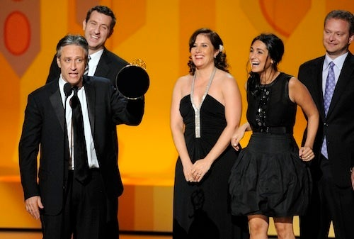 Daily Show Brings A Nice Handful Of Ladies To Emmys