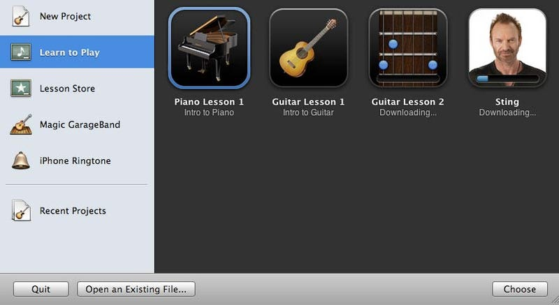 What a $5 GarageBand Artist Lesson Actually Includes