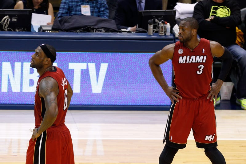 "Dwyane Wade Wants The Ball Because He's More Than LeBron's ""Help"""