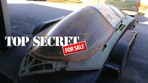 Man gets top secret fighter jet's canopy for peanuts — now selling it on eBay for $620,000