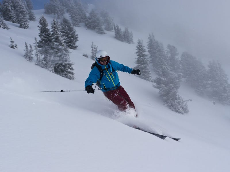 A few good ski shots from the tour today