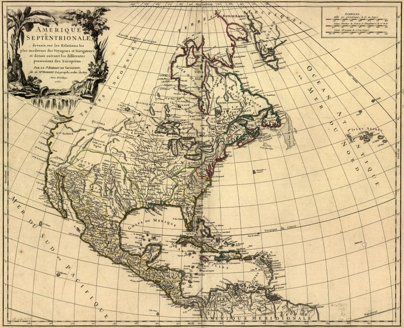 12 Maps of America From Before We Knew What It Looked Like