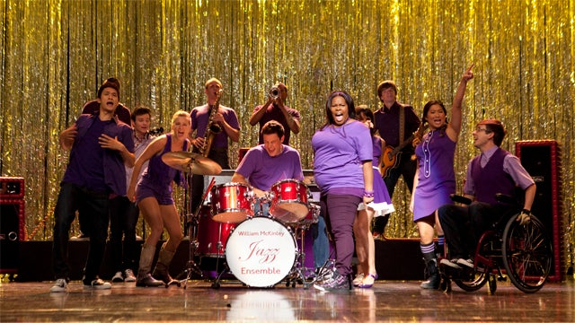 Glee: The 'Purple Piano Project' Is On Fire