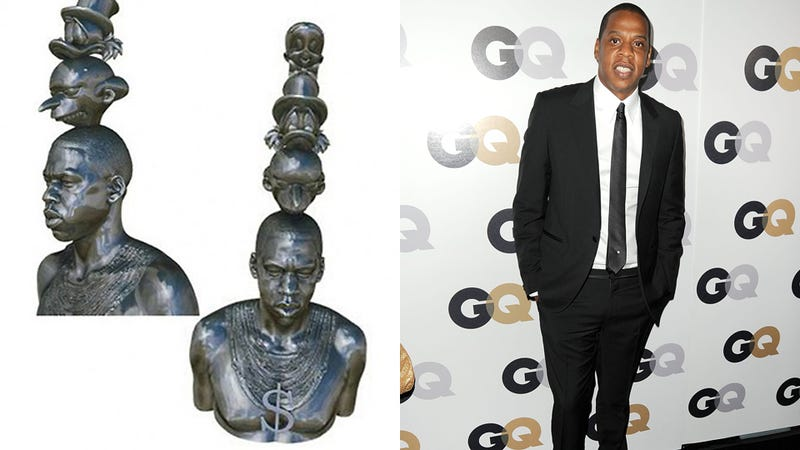 Jay-Z Becomes Symbol of the 1% in Awesome Scrooge McDuck Totem Pole Sculpture