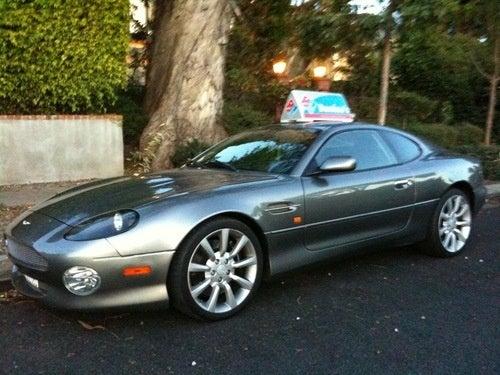 Aston Martin DB7 Pizza Delivery Car
