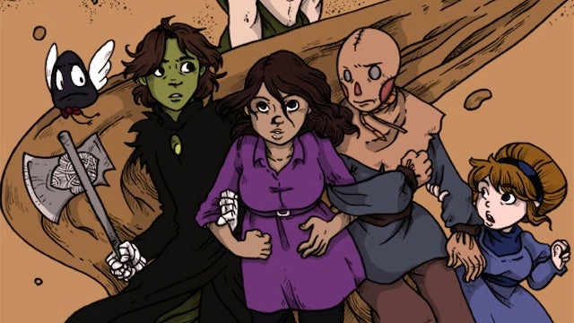Saturday Webcomic: Namesake is an incredible return to Oz and so much more