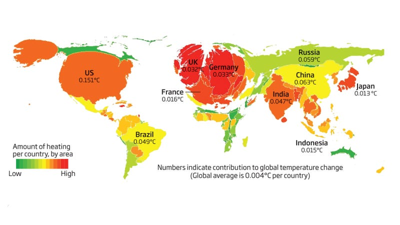 The World's Biggest Global Warming Offenders, Visualized