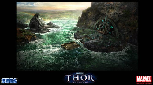 Who Wants Some Thor Video Game Concept Art?