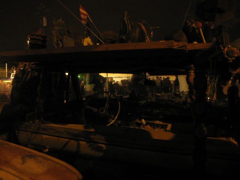 Fireballs, Accordions, And Art Cars At Oakland's Boiler Bar