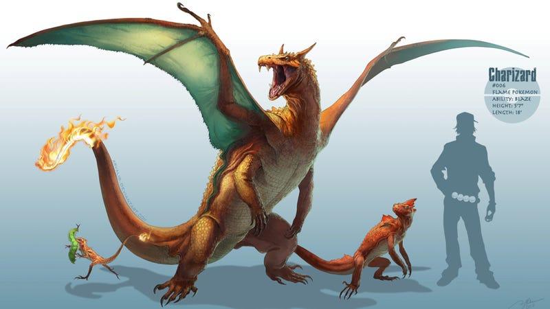 When Pokémon Walked the Earth, Like Dinosaurs