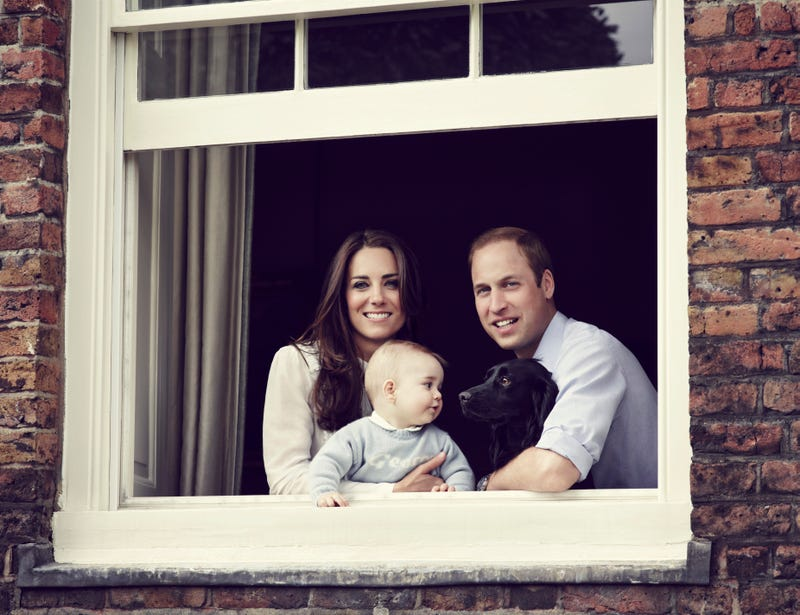 The New Royal Family Portrait: Approachable While Still Unattainable
