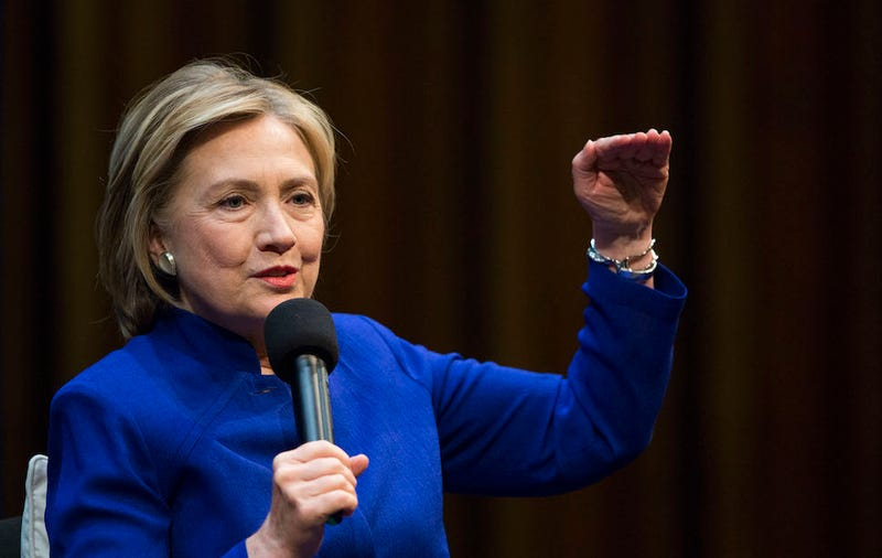 Clinton Says She Donated College Speaking Fees to Clinton Foundation