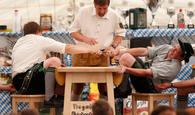 The Best Photos From A German Finger Wrestling Tournament