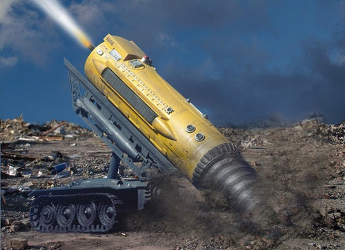 Underground Robot to Blow Up Bunkers