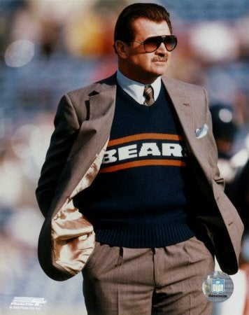 Mike Ditka's Balance Is Not What It Used To Be