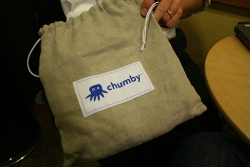 Hands On chumby Wi-Fi Widget Beanbag (Cuddly in More Ways Than One)