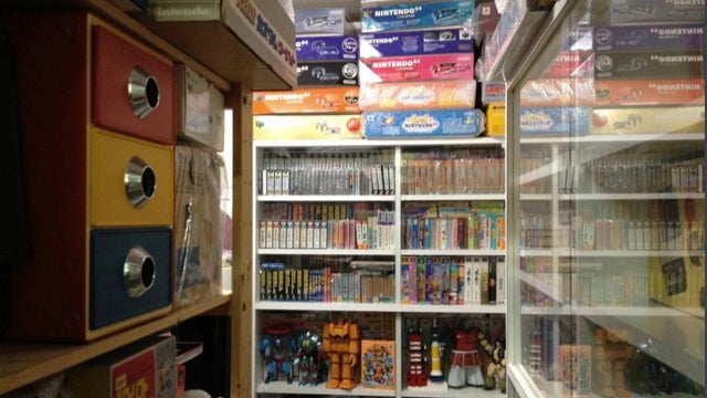 One of the Most Impressive Nintendo Collections in Japan