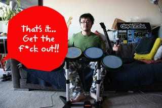 Rock Band Leads to Eviction: Know Your Rocking Limitations