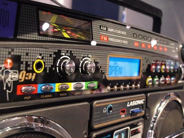 Legendary Lasonic i931 iPod Dock Ghetto Blaster: Pics, Price, and Release Date