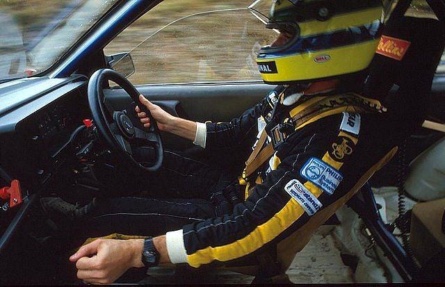 Ayrton Senna da Silva - The Rally Driver from Brazil (with video)