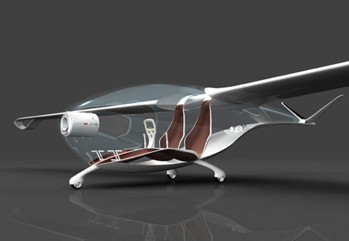 Orlens Glider Concept is Green, Recyclable Air Transport of the Future