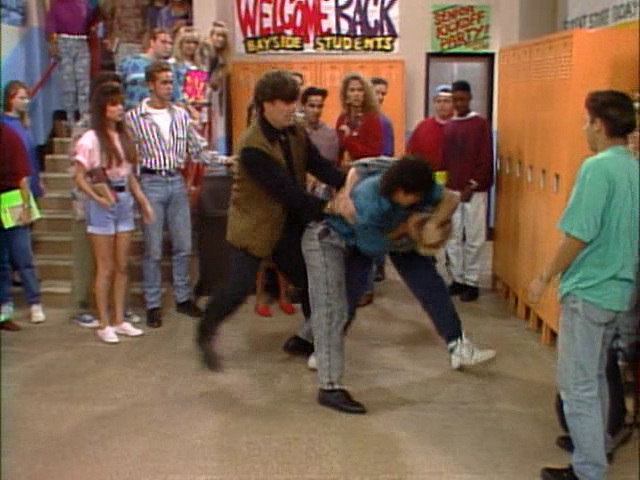 A Drunken Liveblog Of a Couple of Saved by the Bell Episodes