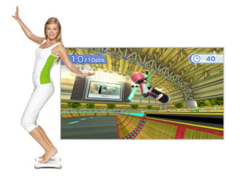 Wii Fit Plus Targets Target Parking Lots
