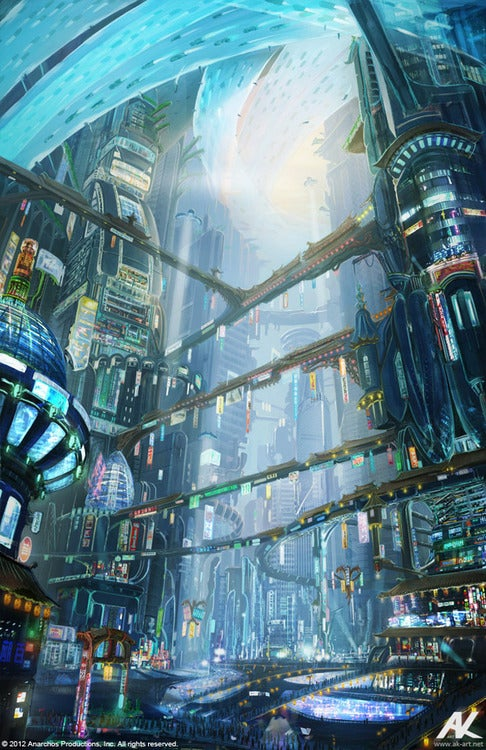 "Travel back to Neo-Seoul with more ""Cloud Atlas"" concept art"
