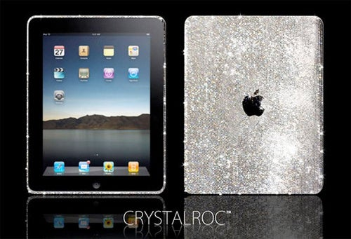 Swarovski-Encrusted iPad Looks Like A Bargain Next To The Diamond Model