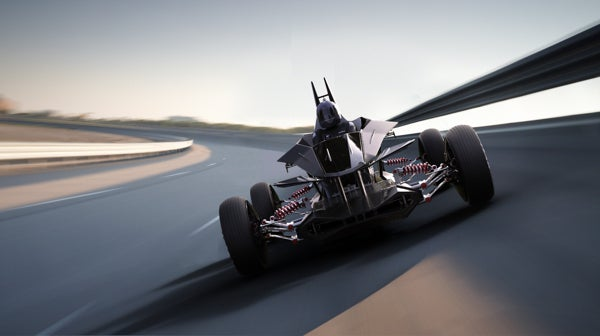 "Fans Design Their Own Gran Turismo 5 Car. So, Yeah, It Can ""Transform""."